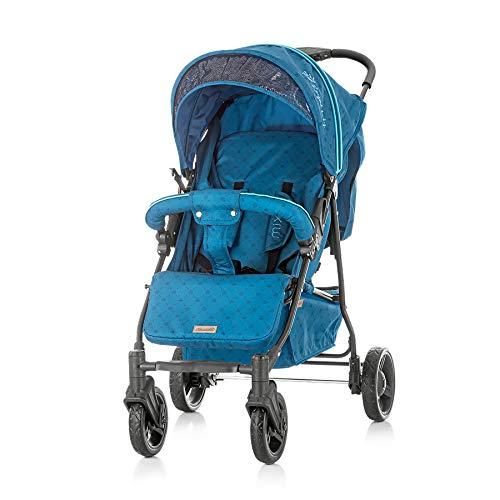 Chipolino, carrozzina, passeggino, buggy mixie, fino a 22 kg, pieghevole, colorazione:blu