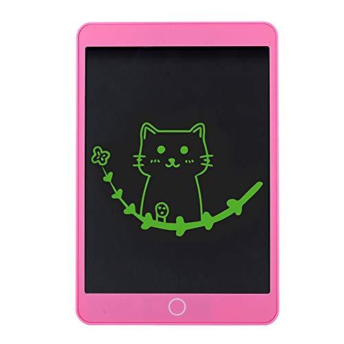 Goshyda Tableta de Escritura a Mano con Pantalla LCD de 10,5 Pulgadas, Tablero de Dibujo ergonómico de Moda con un Solo botón sin borrado de luz Azul para Regalo Infantil