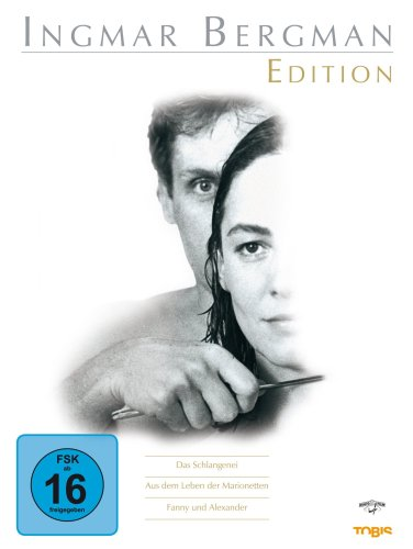 Ingmar Bergman Edition ( Das Schlangenei / Aus dem Leben der Marionetten / Fanny und Alexander inkl. TV-Langfassung) [5 DVDs]