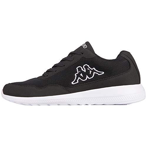 Kappa Follow XL, Zapatillas para Hombre, Negro (Black/White 1110), 47 EU