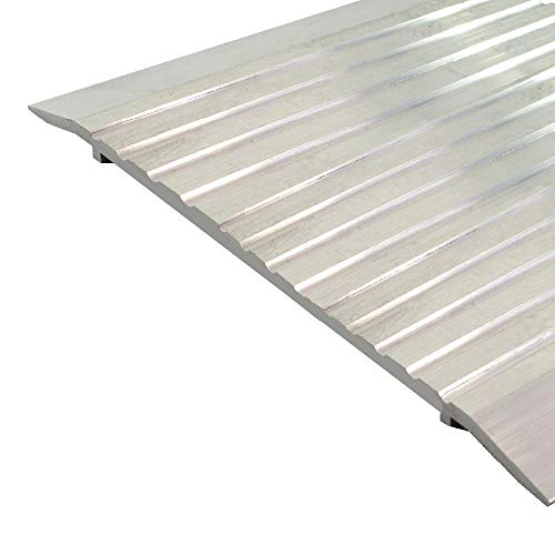 Fire Rated/ADA Approved/Mill Aluminum Door Threshold/Saddle (3845MA), FH (Flathead) Screw #10 x 1/2'' Supplied, (8'' W x 1/4'' H) (36'')