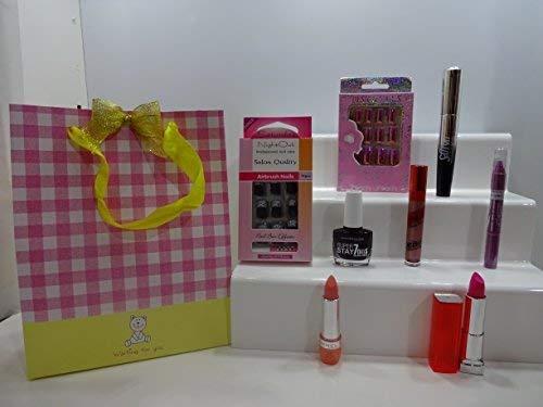 Noël vente ~ 11pc Beauté Maquillage Sac cadeau ~ Ensemble cadeau
