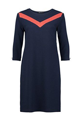 Expresso Adel Damen Kleid Kontrast, Navy, Gr. 34