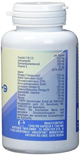 Vitasyg Omega 3 6 9 + Vitamin E – 100 hochdosierte Softgel Kapseln - 2