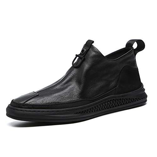 LOXBEE 2021 de los hombres de microfibra zapatos de cuero suave antideslizante de goma mocasines de los hombres casual cómodo zapatos de cuero