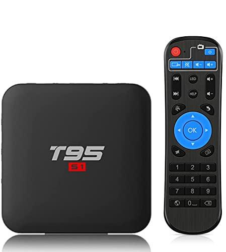 Android 8.1 TV Box , Leelbox TV Box Quad Core , 2+16Gb 4K*2K UHD H.265, HDMI, USB*3, WiFi Media Player, Box TV Android