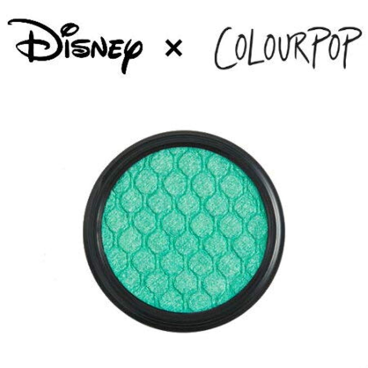 映画凍ったピンポイントカラーポップ COLOURPOP x DISNEY ディズニー プリンセス アイシャドウ UNDER THE SEA(シーグリーン)
