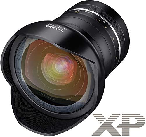 Samyang XP f2.4Obiettivo della Fotocamera per Nikon, Nero, 14 mm