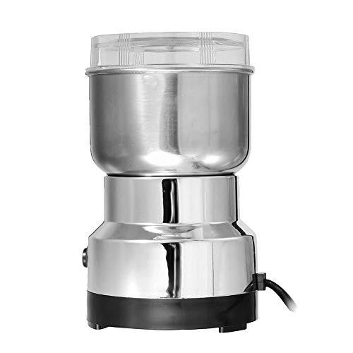 GGKLY Elektrische Kaffeemühle 150W Mit 530 G Füllmenge Mit 304 Edelstahl Schlagmesser Coffee Grinder Für Nüsse & Gewürzeelektrische Kaffeemühle