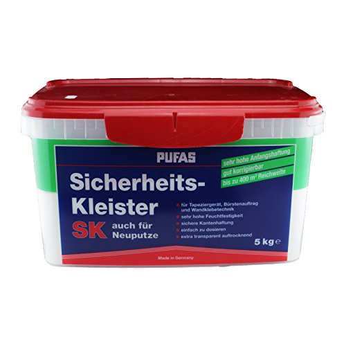 Pufas Sicherheitskleister SK 5 KG - auch für Neuputze geeignet