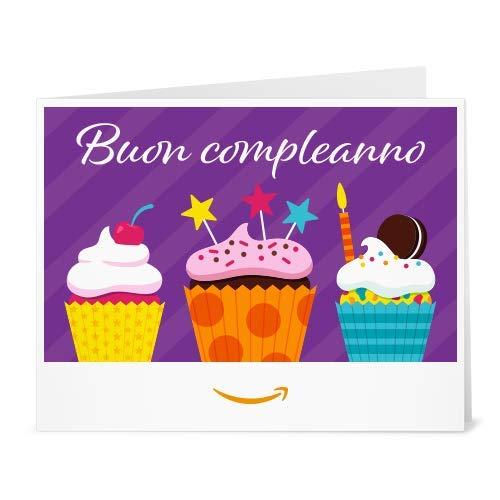 Buono Regalo Amazon.it - Stampa -Cupcakes (Compleanno)