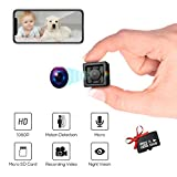 Kolaura Hidden Wireless Mini Camera with Night Vision and Motion Detection Full HD1080P Rechargeable Portable Small...