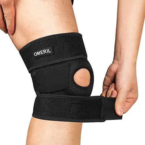 OMERIL Knee Brace, Knee Compression Sleeve Breathable Knee Pad for Men & Women, Knee Support...