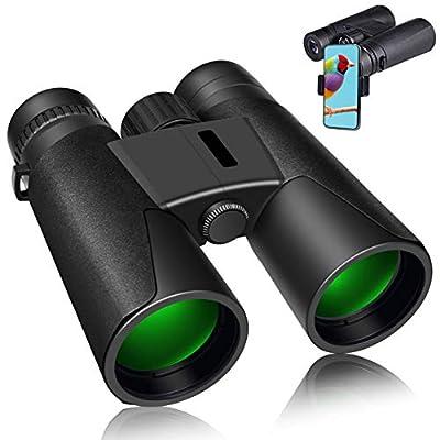 Amazon - Save 10%: 12×42 Binoculars for Adults Compact Sharp Vision Binocular(1.09 lbs.) Super…
