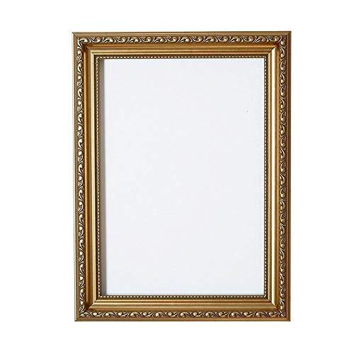 Ornate Shabby Chic Bild- / Foto- / Posterrahmen - Mit MDF-Platte - mit Plexiglasblatt - Gold Rahmen - A2