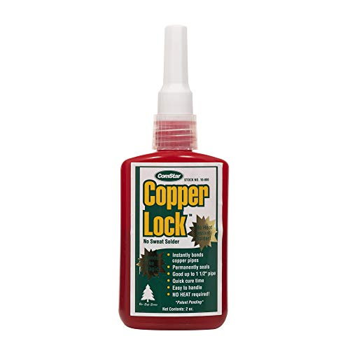 Comstar 10-800 Copper Lock, No Heat Solder, 2 oz. Plastic Container