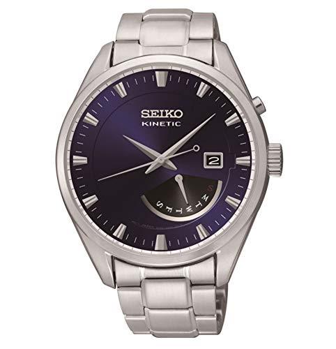 Seiko herenhorloge automatisch horloge met roestvrijstalen armband SRN047P1