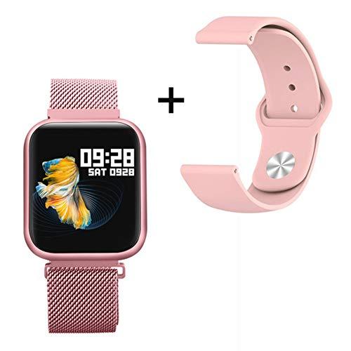 BZLEK Orologio Fitness Tracker Contacalorie Pedometro, Smartwatch con IP68 Impermeabile 1,3 Pollici Touch Screen, Molteplici modalità Sportive E Monitoraggio del Sonno per Uomini Donne E Regalo,B