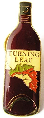 Turning Leaf - Weinflasche - Pin 36 x 10 mm