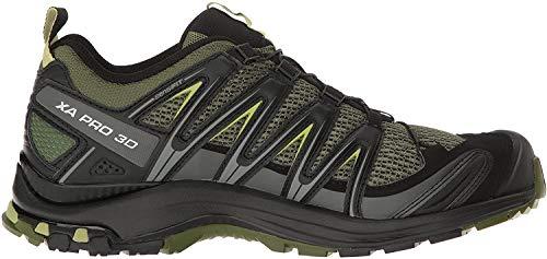 Salomon XA Pro 3D, Zapatillas de Trail Running para Hombre, Verde, 41 1/3 EU