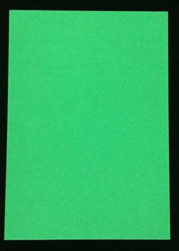 EverGlow Leuchtfolie, Bastelfolie nachleuchtend, leuchtet im Dunkeln, Aufladung durch Künstliches, oder Sonnenlicht