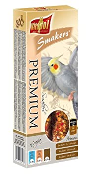 Vitapol Premium Smakers Bâtons pour friandises pour perruches avec 2clés