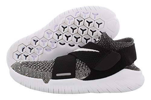 Nike W Free RN Motion FK 2018, Zapatillas de Running para Mujer, Negro (Black/White 001), 38 EU