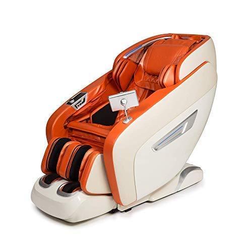 Daruma 3D Sillón de Masaje - Naranja (Modelo 2021) - 12...