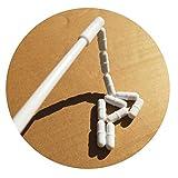 (Set of 11 PCS) 1 Inch Magnetic Stirrer Stir Bars + Magnetic Retriever...