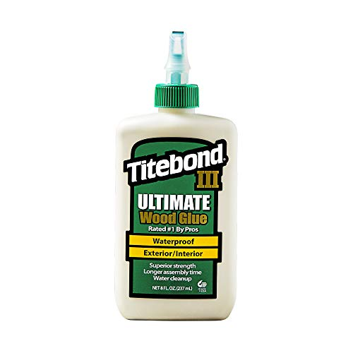 Titebond III Ultimate Wood Glue  1413- Pegamento para madera, 237ml