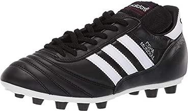 adidas mens Copa Mundial Soccer Shoe, Black/White/Black, 10.5 Women 9.5 Men US