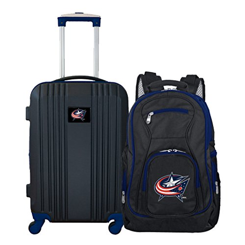 Affordable NHL Columbus Blue Jackets 2-Piece Luggage Set