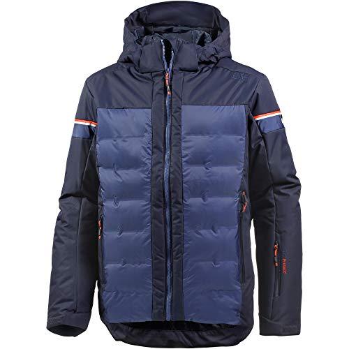 CMP Herren Jacke Wattierte Twill 5000 Skijacke, Black Blue, 50, 38W0577