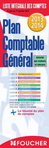 Plan comptable général 2013-2014