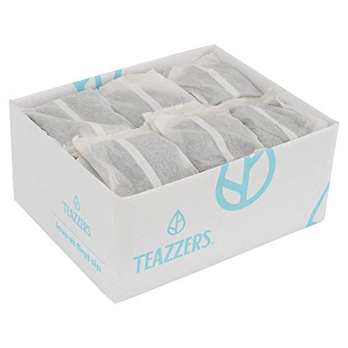 Teazzers Premium All-Natural Green Tea Bags, Large 1-Gallon Iced Tea Brew, Commercial Size Tea Filters, Bulk 96 Pack, 1 oz. Great for Foodservice Ice Tea Brewers, Unsweetened