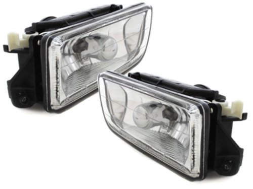 Kitt Nlb01dc Feux de Brouillard Lampes lentille de verre Chrome projecteurs lumières