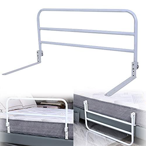 Anti-Fall-Assist Senioren-Bettgitter, umklappbarer Bettgriff für ältere Menschen, höhenverstellbare Schlafzimmer-Gurad-Bar, universelles Betttyp-Design für die Körperpflege von Erwachsenen, einfach