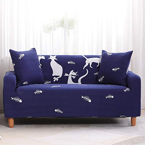HXTSWGS Fundas Cojines de Sofa,Funda de sofá elástica, Funda de sofá de Banco de Silla elástica, Funda Protectora de Perro mascota-Color31_235-300cm