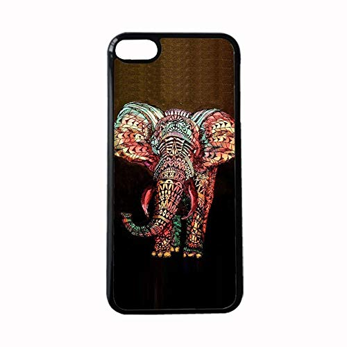 for Boy Compatible to Apple iPod Touch 6 Hard Plastics Shell Beautiful Have with Colorful Elephant Drawing 1 Choose Design 141-2
