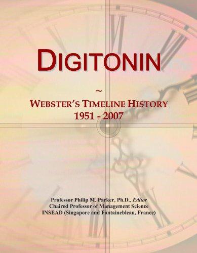 Digitonin: Webster's Timeline History, 1951 - 2007