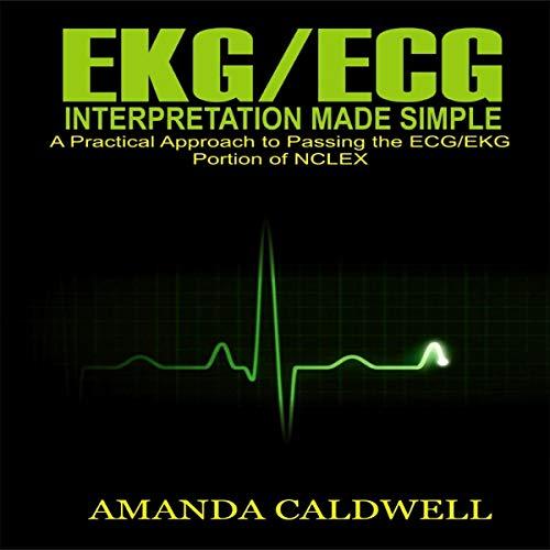 EKG/ECG Interpretation Made Simple audiobook cover art