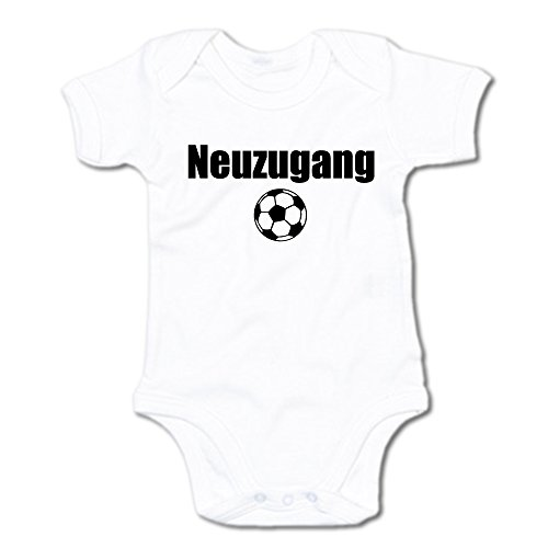 G-graphics Neuzugang Baby Body Suit Strampler 250.0128 (0-3 Monate, weiß)