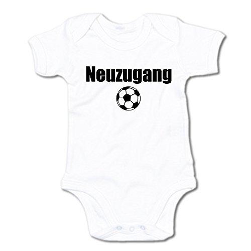 G-graphics Neuzugang Baby Body Suit Strampler 250.0128 (3-6 Monate, weiß)