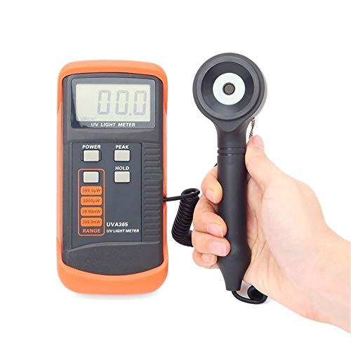 For Sale! ZYL-YL 400m W/cm UV Light Meter UVA LSI-Circuit Tester UV Sensor with Light Correction Fil...