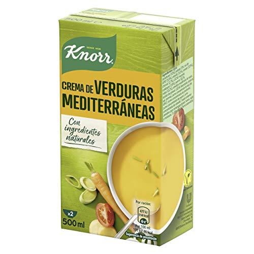 Knorr - Crema Verduras Mediterráneas, 0.5 L