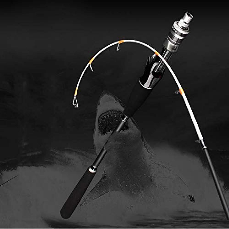 FISHYY Angelrute Leichte Salzwasser-Stiefel-Tintenfisch-Flo-Angelrute 1.6M Flostange Schwarze weiche Spitze Ultra-weiche Casting-Angelrute