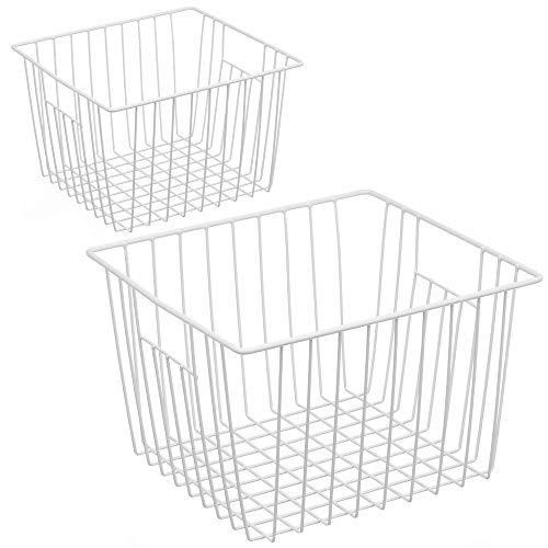 wire basket freezer - 5