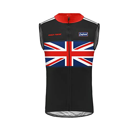 BurningBikewear Uglyfrog Ciclismo Maillots Sin Mangas Traje Ciclista Verano/Primavera Transpirable Cómodo Chalecos Cycling Vest MES2019MJ09