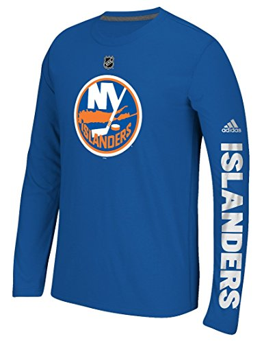 adidas New York Islanders NHL Journeyman Climalite Performance L/S Shirt