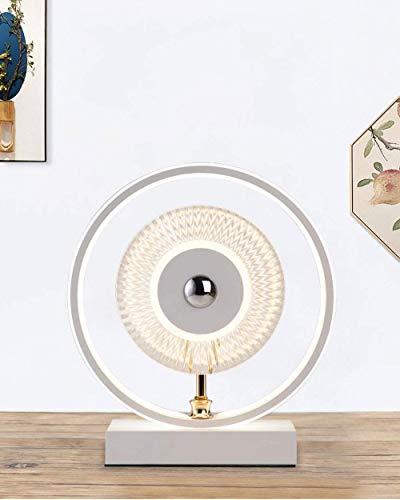 TRPYA Lámparas de Mesa de Cristal de 19W, lecho Regulable de la...